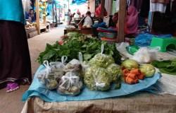 Emak-emak di Kendari Keluhkan Harga Sayur