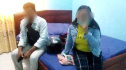 Sepasang sejoli di Kabupaten Konawe kedapatan sekamar di hotel. (Foto: Dok.tribratanews polres konawe)