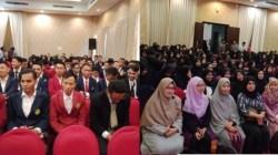 Pengukuhan mahasiswa FKIP UMK, Kamis (18/7/2019). (Foto: Dok UMK)