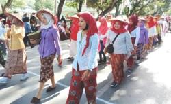Dirgahayu RI, Kota Kendari Mendadak Kembali Tempo Doeloe