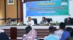 Pemda Konsel Gelar Workshop Tata Cara Penyusunan LPPD