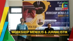 Kolaka Media Institusi Gelar Workshop Menulis dan Jurnalistik