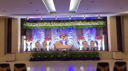 Dekorasi Wedding Hotel Zahra Syariah Kendari (Foto: Istimewah)