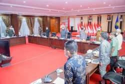 Gubernur Sultra Sosialisasikan UU Cipta Kerja hingga Pemerintah Level Terbawah