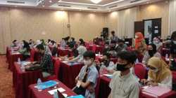 Peserta Forum Milenial Kreaktif Kota Kendari (Foto: Wa Rifin/SULTRAKINI.COM)