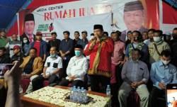 Klaim Menang, Rusman Emba-Bachrun Deklarasi Kemenangan, Mantan Bupati Ikut Berikan Selamat