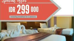 Promo Kamar Spesial Hotel Athaya Kendari (Foto: Dok. Hotel Athaya Kendari)