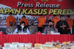 2,5 Ton Sabu Gagal Beredar Di Indonesia, Kapolri: 10,1 Juta Jiwa Terselamatkan
