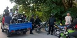 Hari Pertama Ramadan, Polres Baubau Amankan 50 Unit Motor Balap liar