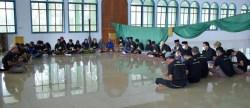 Relawan ASR Muna Berbagi Sembako, Imam Besar Masjid Muna Mendoakan