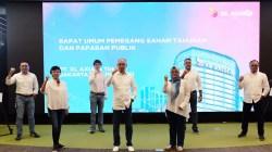 Jajaran Direksi & Komisaris XL Axiata dalam acara RUPS Tahunan 2021 (Foto: Dok. XL Axiata)