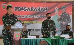 Perintah Pangdam XIV Hasanuddin ke Aparat Teritorial Kodim Muna saat Kunjungan Kerja