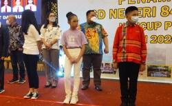 Mantan Juara Wajah Pesona Indoneaia, Vania Nathania Eliza Kembali Harumkan SDN 84 Kendari
