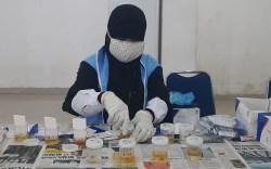 BNNP Sultra Screening Test 155 Peserta Wisuda IAIN Kendari