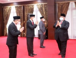 Gubernur Lantik Pejabat Pimpinan Tinggi Pratama, Kepala BPKAD Sultra Dirotasi