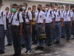 남동 술라웨시 주의 Paskibraka, 집중 훈련 시작
