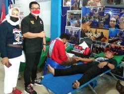 Jaga Stok Darah di PMI, DPW Garda Pemuda NasDem Sultra Gelar Donor Darah