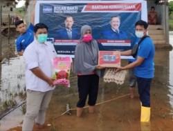 Aksi Cepat Tanggap Partai Demokrat Bantu Korban Banjir di Konawe