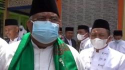Gubernur Sultra Ali Mazi pada peringatan Hari Pesantren di Kendari, Jumat (22 Oktober 2021). Foto: IST