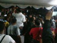 Pasca Gaduh Saat Pendaftaran Bupati, 250 Polisi Siaga di KPUD Buton