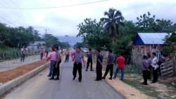 Demi Keamanan Pleno KPU Mubar, Sejak Malam Ini Jalan Poros Lakawoghe Ditutup