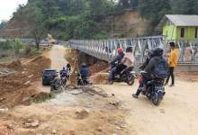 Photo of Jembatan Darurat di Sampara Bakal Dibongkar Jadi Jalan Permanen