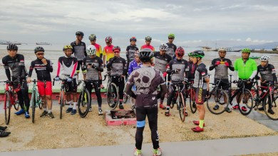 Photo of Gowes Bareng, Komunitas Road Bike Kendari Taklukan Rute Sepanjang 134 KM