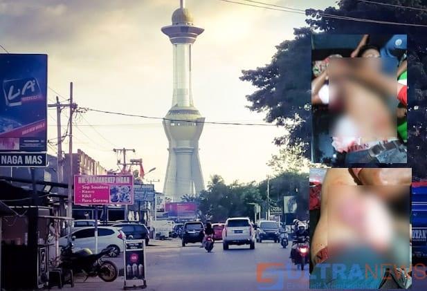 Foto Hoaks Korban penganiyaan