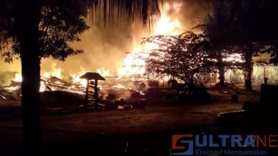 Photo of 4 Rumah Warga di Koltim Lenyap di Lalap Si Jago Merah