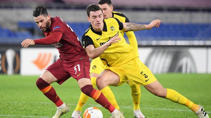 AS Roma Liga Eropa 2020