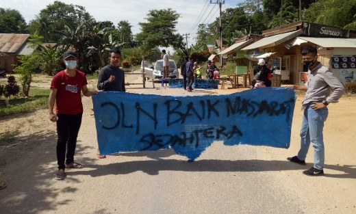 Menyoal Jalan Poros Kecamatan Andolo-Tinanggea, KBPM Konsel Kembali Angkat Bicara