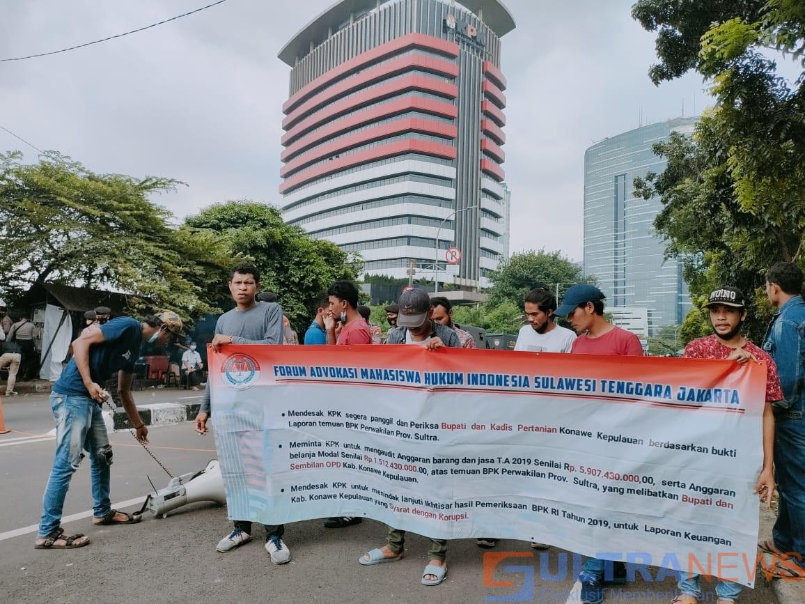 FAMHI Sultra-Jakarta Desak KPK RI Periksa Bupati dan Kadis Pertanian Konkep