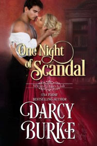One Night of Scandal by Darcy Burke Blog Tour & Review