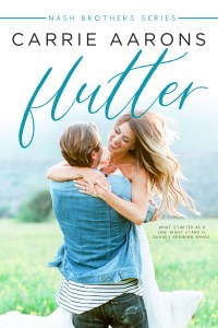 Flutter by Carrie Aarons Release & Review
