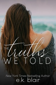 The Truths We Told by E.K. Blair Release & Dual Review