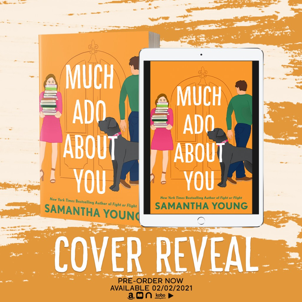 Much Ado About You by Samantha Young Cover Reveal