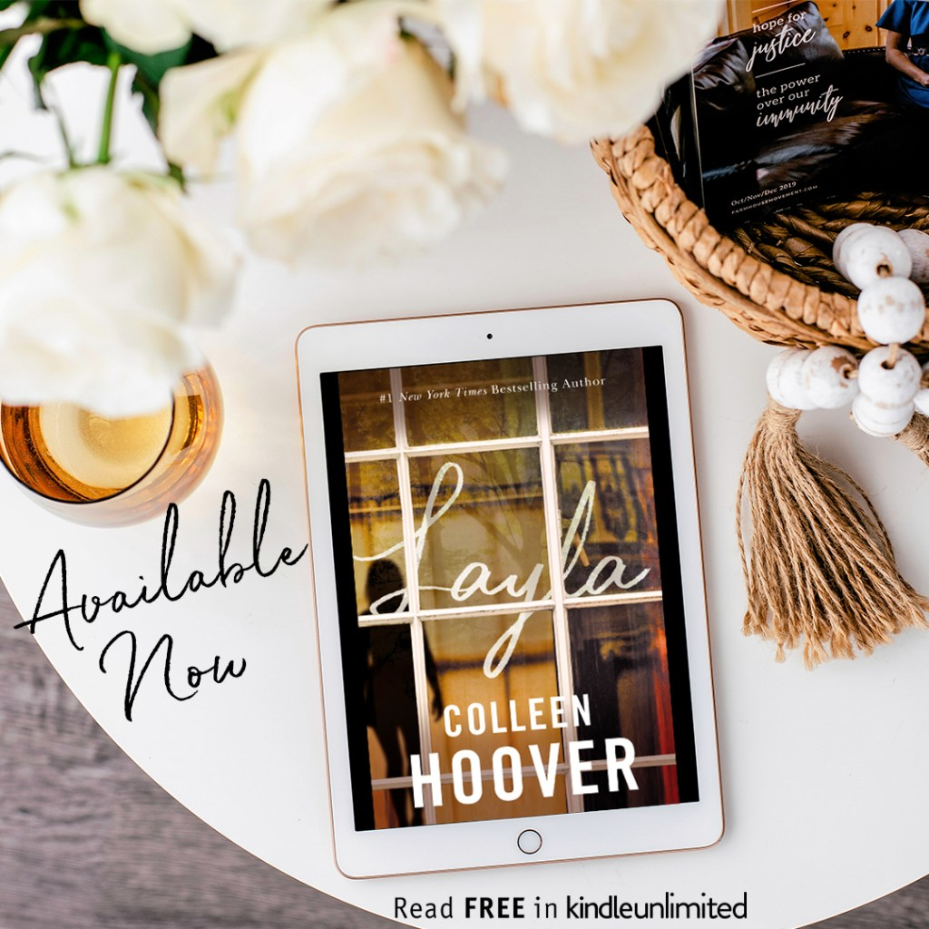 Layla by Colleen Hoover is live