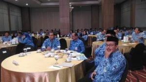 Wakili Gubernur Olly, Humiang Buka Sarasehan Korpri