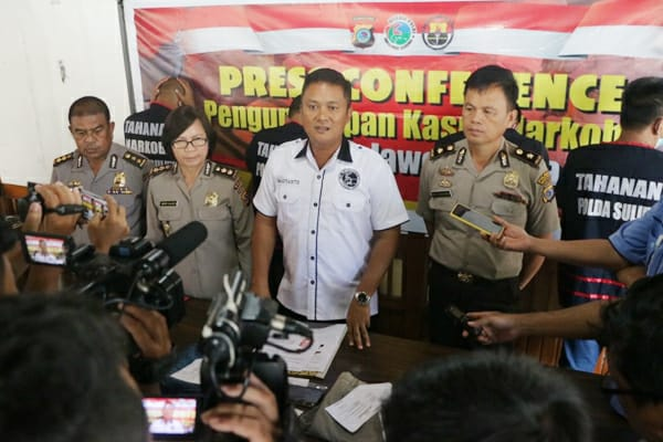 Bongkar Sindikat Narkoba, Oknum Anggota DPRD Bolsel Disikat Polda