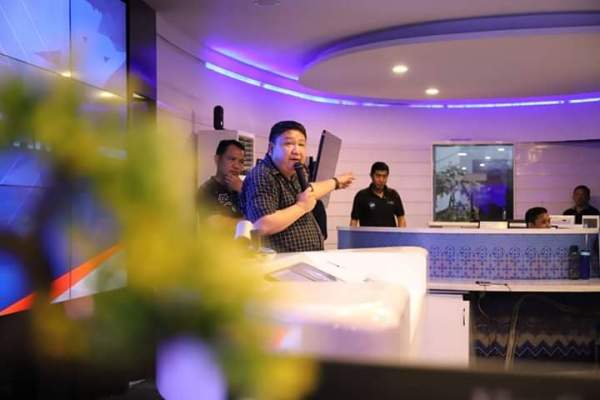 Dukung Kebijakan Walikota GSVL, Lewat Pengeras Suara Dinas Kominfo Himbau Warga Waspada Covid-19