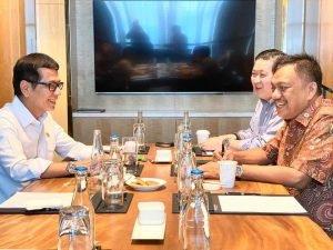 Gubernur Olly dan Menteri Wishnutama Ngopi Bareng Bahas Pariwisata
