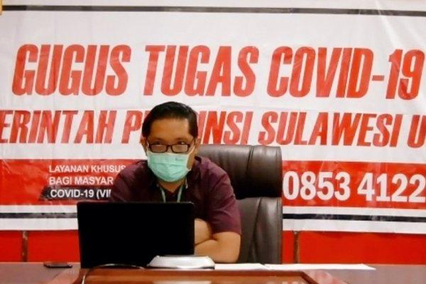 Jubir Covid: Positif  di Sulut Jadi 32 Orang