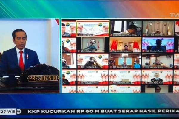 Walikota GSVL Ikut Musrenbang Nasional 2021 via Vidcon, Presiden : 2021 Adalah Tahun Recovery