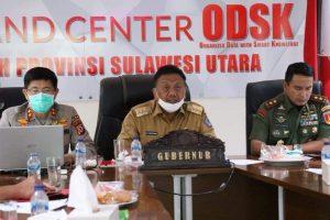 Tidak Ada Lockdown, Ini Hasil Rapat Teleconference Gubernur Se-Sulawesi
