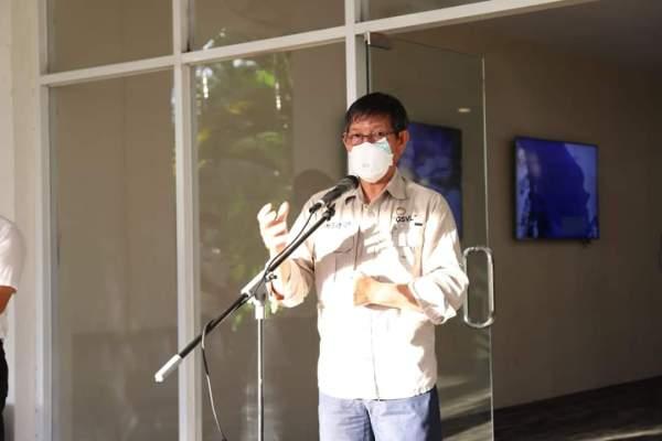Walikota GSVL : Hasil Donasi Akan Dibelikan 1000 APD Untuk Tenaga Medis Puskesmas di Kota Manado