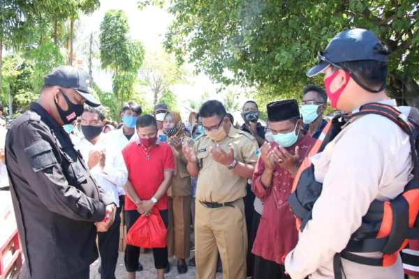 ODSK Sisir Pulau Gangga, Talise, Kinabuhutan dan Bangka, Turun Langsung Serahkan Bantuan