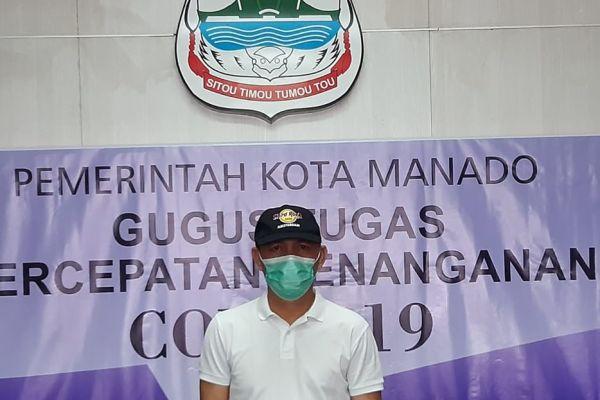 Pemkot Manado Bantah Informasi Berantai 200an Hasil Repid Test Pasar Karombasan di Medsos Adalah Hoaks