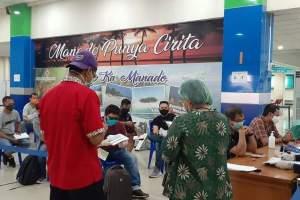 Diawasi Ketat, 33 Penumpang Tiba di Manado, Lakukan Isolasi Mandiri di Rumah dan Hotel