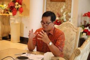 Show Must Go On, Wagub Kandouw Buka Webkusi Covid-19 dan Tantangan Tata Kelola Pemerintahan