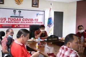 Wagub Kandouw Pastikan Kesiapan Sulut Gelar Pilkada Serentak dengan Protokol Covid-19